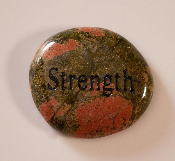 Strength- Jasper Wish Stone