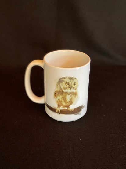 16 oz Owl Mug