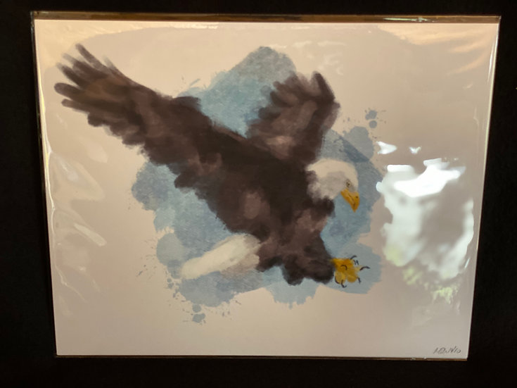 8x10 Eagle Limited Edition Print