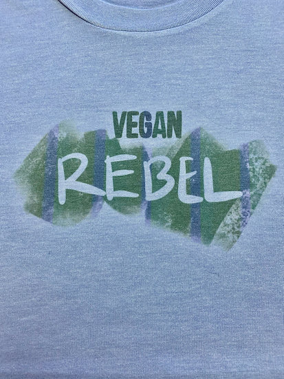 Unisex Vegan Rebel Crewneck T