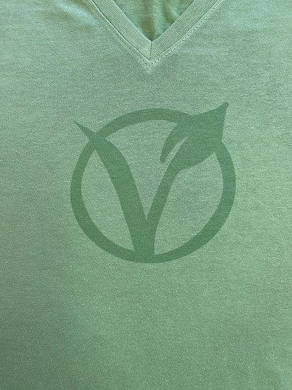 Certified Vegan Women's V-neck T