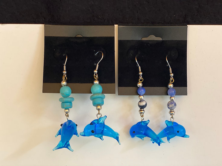 Glass Dolphins