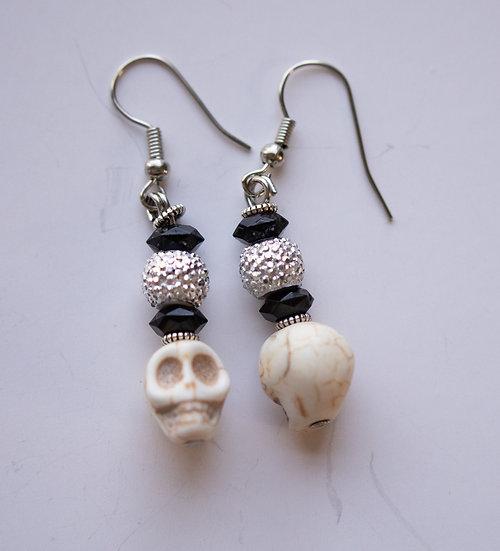 Mini Glitter Skulls