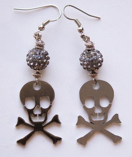 Sterling Silver Skulls