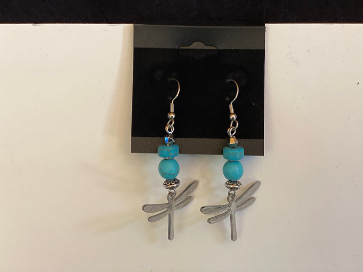 Dragonflies and Turquoise