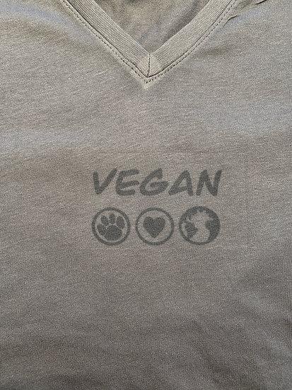 Women's Vegan Because T