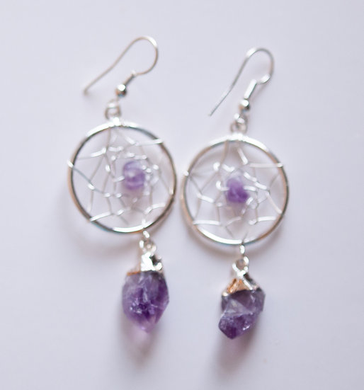 Amethyst Dreamcatchers