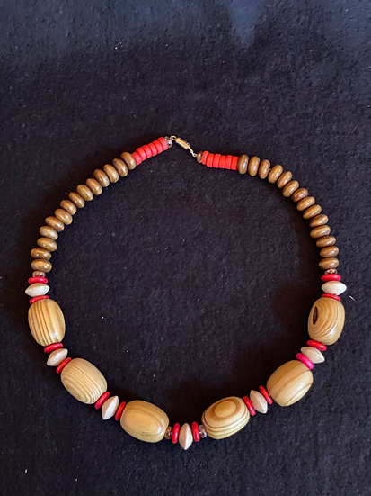 "20"" Wood Necklace"