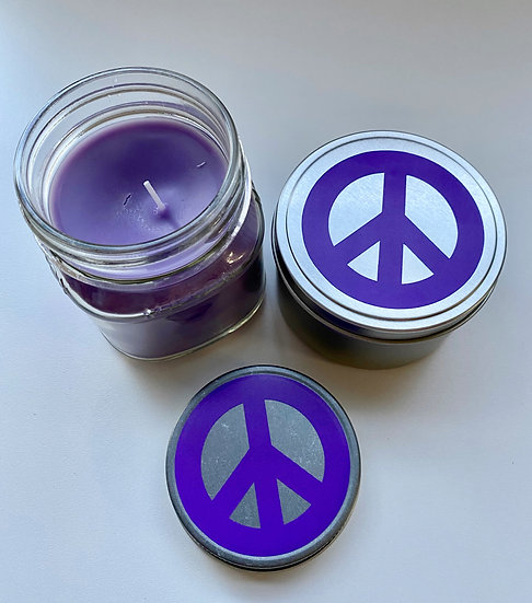 Relax Soy Wax Essential Oil Candle 8oz