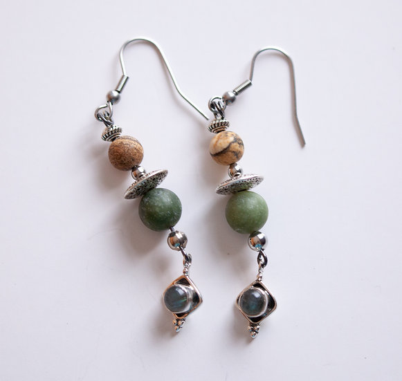 Labradorite and Greens