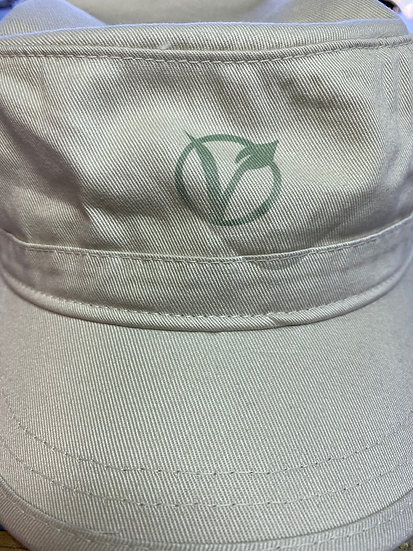 Vegan Logo Hat Cotton Twill Corps Hat