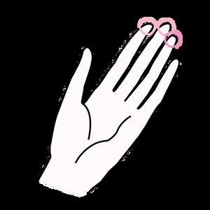 etape deux de l'autopalpation contre le cancer du sein, titsup