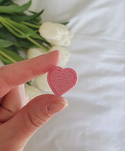 Pink Heart Patch