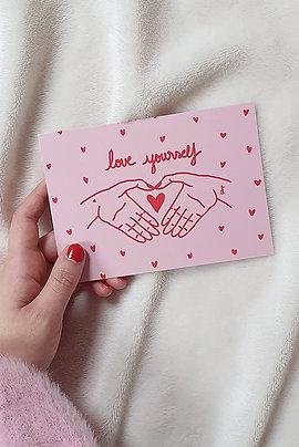 Carte Love Yourself