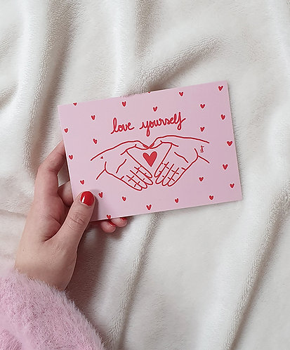 Carte Love Yourself
