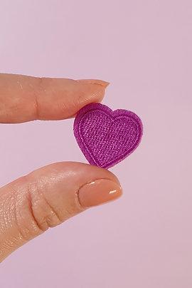 Patch Coeur Violet