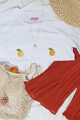 Titshirt Abricot