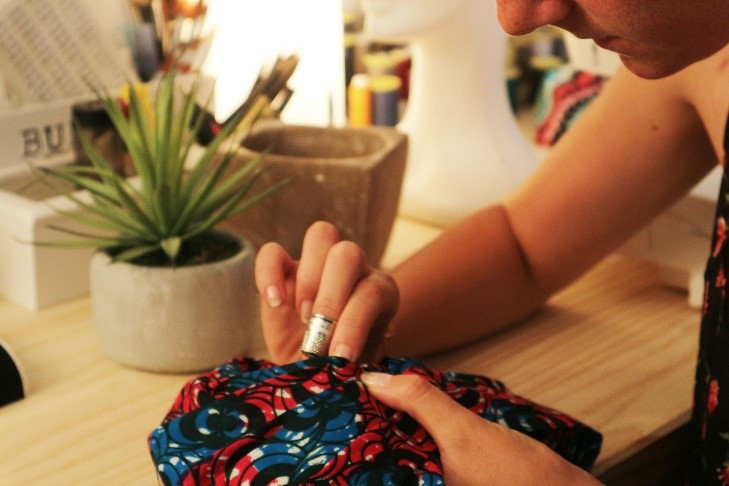 entrenoue atelier confection turban