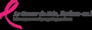 Logo Le cancer du sein parlons en