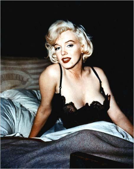 Marilyn Monroe dans Certains l'aiment chaud, 1859. Collection Christophel