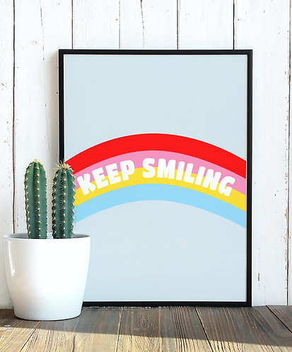 Affiche Keep Smiling