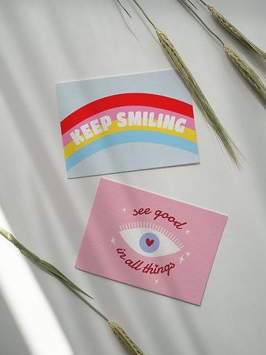 Carte Keep Smiling