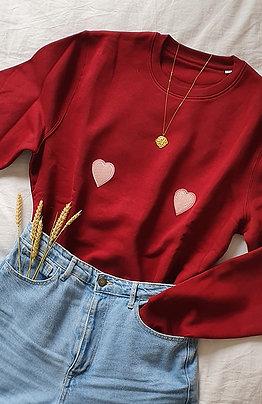 Sweatits Coeur Rose