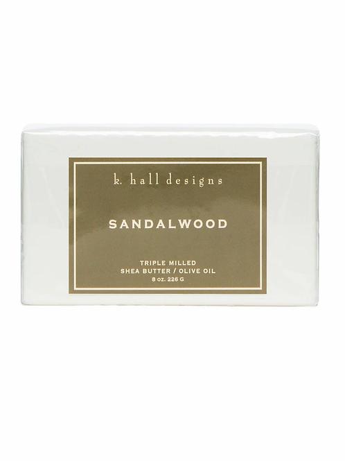 K Hall Studio Sandalwood Bar Soap