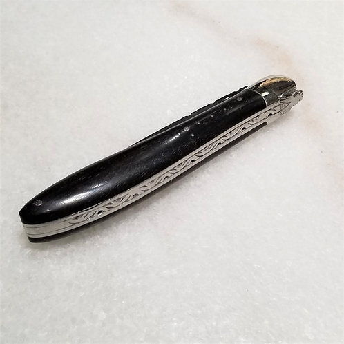 Laguiole Ebony Folding Knife