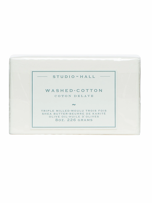 K Hall Studio Washed Cotton Bar Soap