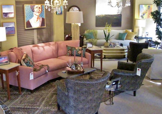 LEE 1296-33 Wedge Sofa, 1347-41 Chairs