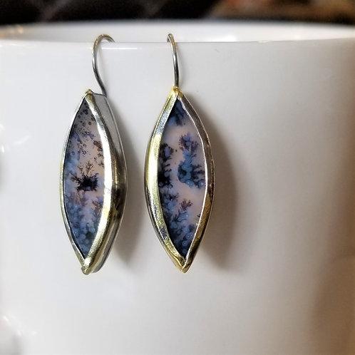 Austin Titus Studio Kuem Boo Dendrite Earrings