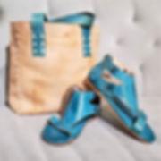 BedStu Soto Sandal turquoise