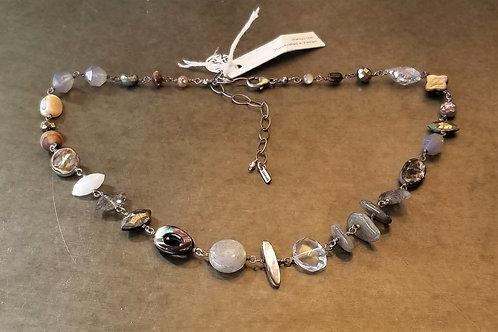 ChanLuu Mixed Stone Necklace