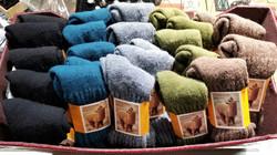 Solid Alpaca Socks