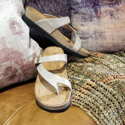 30% off Andros in Lizard Gold by Salvia- Bussola Style $90