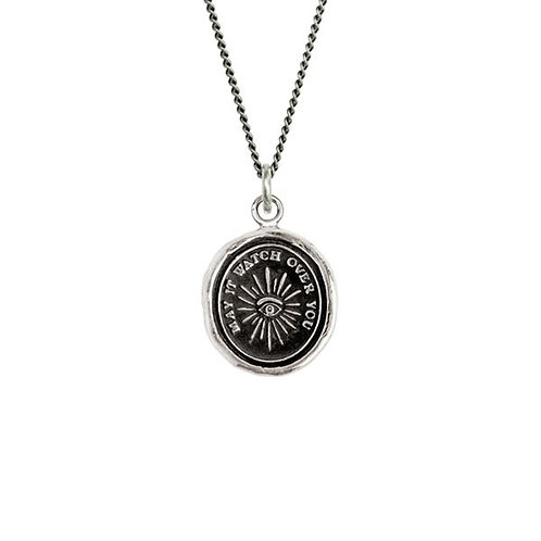 Pyrrha Higher Power Sterling Silver Talisman Necklace