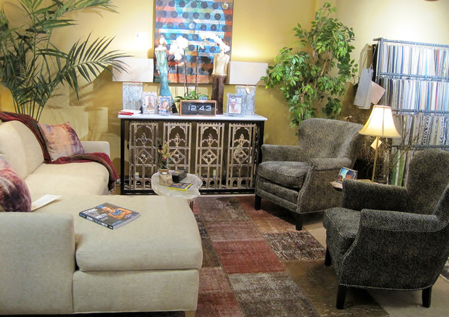 LEE 1296 Sectional & 1347-41 Chairs
