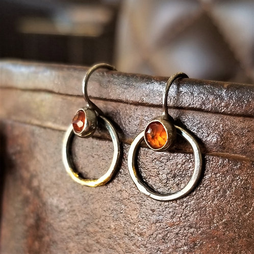 Austin Titus Studio Kuem Boo Hessonite Earrings