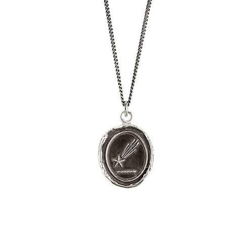 Pyrrha Shooting Star Sterling Silver Talisman Necklace