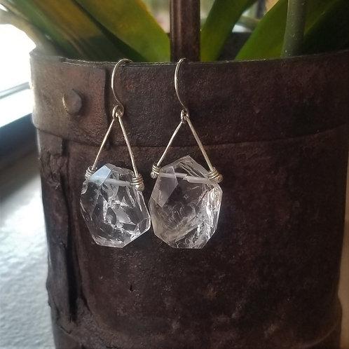 ObscurO Ice Breaker Quartz Earrings