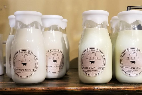 Milk Reclamation Barn Bless Your Heart Candle