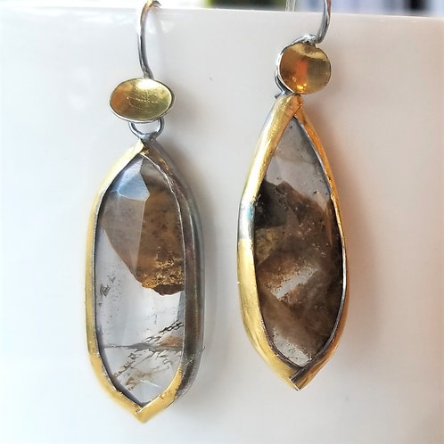Austin Titus Studio Kuem Boo Quartz Earrings