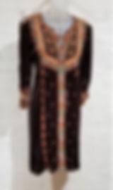 Johnny Was Chiri Velvet Kaftan Dress