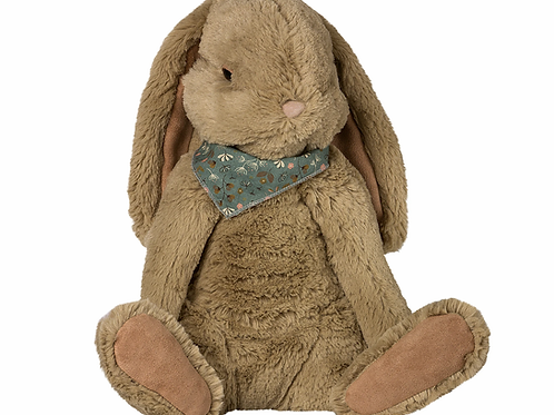 Maileg Fluffy Buffy Bunny X-Large, Dusty Brown