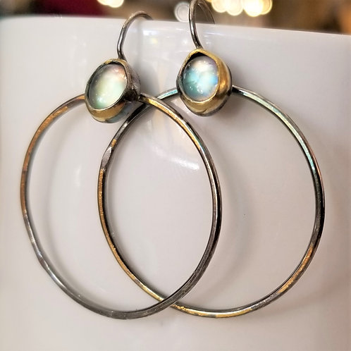 Austin Titus Studio Kuem Boo Moonstone Earrings