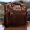 Thumbnail: Jack Georges VOYAGER PROFESSIONAL ZIPPERED BRIEFCASE #7321