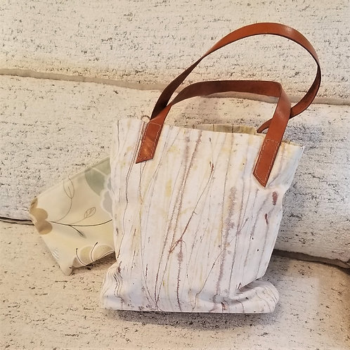 Melissa Elliott Hand Painted Canvas Bag w/Pouch
