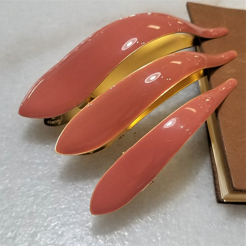 Ficcare Picasso Hair Clip in Guava Pink
