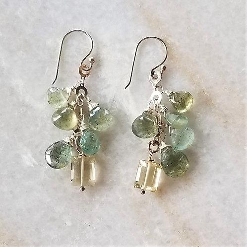 Luna Mar Mixed Stone Earrings